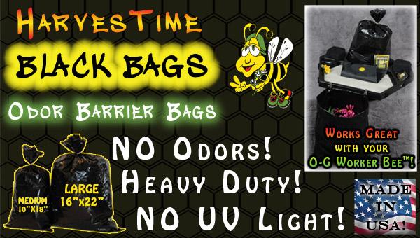 Harvestime Black Bags
